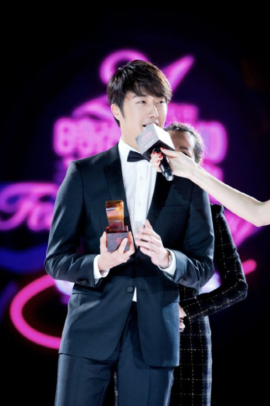2014 10 29 Jung Il-woo at the Beauty Cosmo Awards in Shanghai, China. 13.jpg
