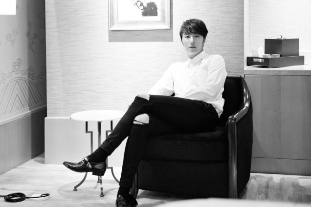 2014 10 29 Jung Il-woo at the Beauty Cosmo Awards in Shanghai, China. Interview 2 15