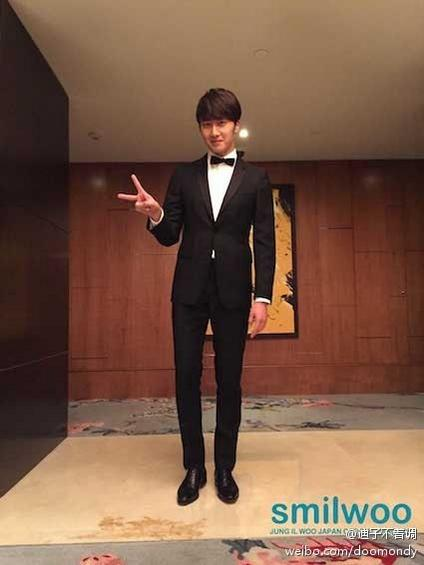 2014 10 29 Jung Il-woo at the Beauty Cosmo Awards in Shanghai, China. JIW Social Media Posts and others 4