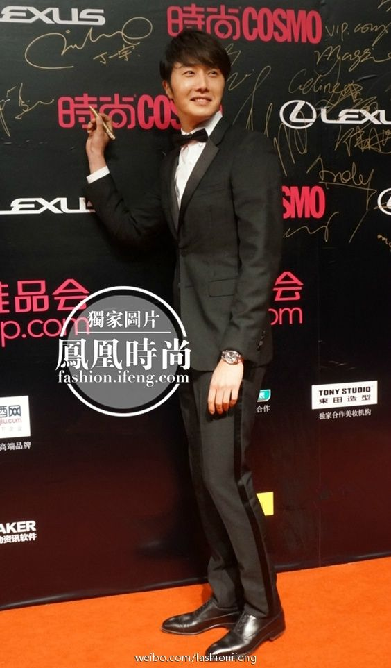 2014 10 29 Jung Il-woo at the Beauty Cosmo Awards in Shanghai, China. Red Carpet 3