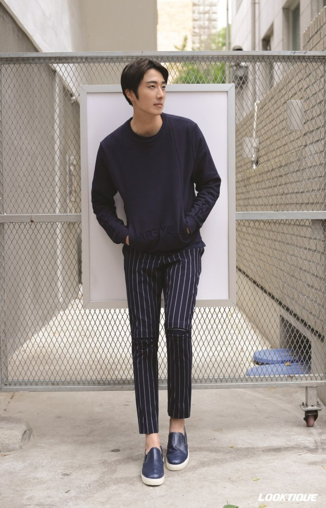 2014 10 31 Jung Il-woo in Looktique Magazine 3