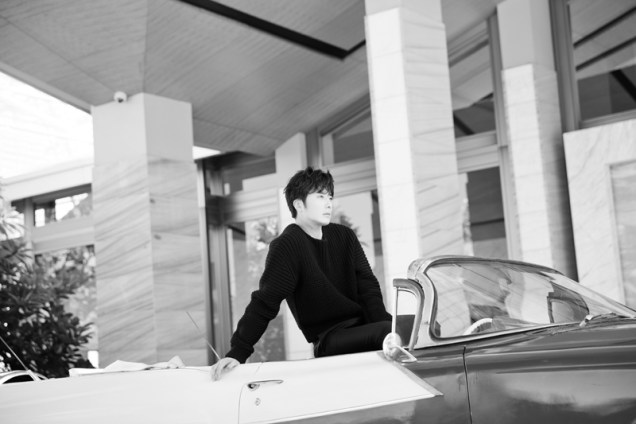 2014 10:11 Jung Il-woo in Bali for BNT International Part 1: Cars 15