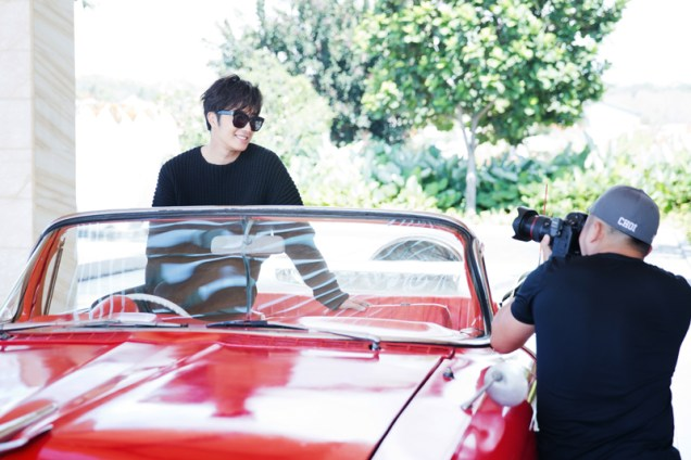 2014 10:11 Jung Il-woo in Bali for BNT International Part 1: Cars 16