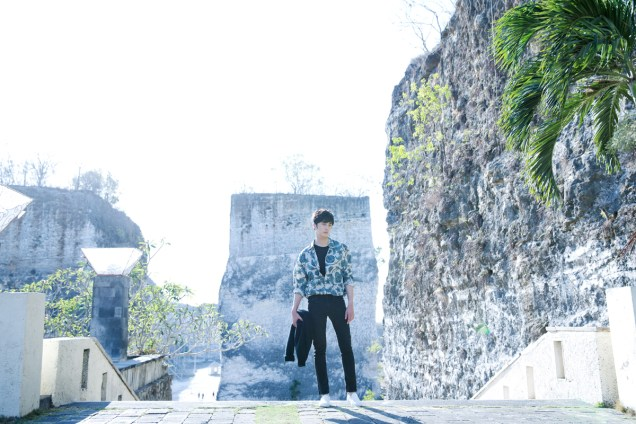 2014 10:11 Jung Il-woo in Bali for BNT International Part 3: Cliffy Goodness Cr.BNT International 9