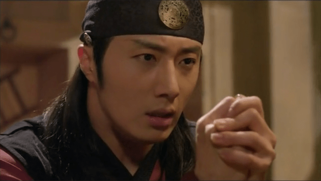 2014 11 Jung II-woo in The Night Watchman's Journal Episode 22 9