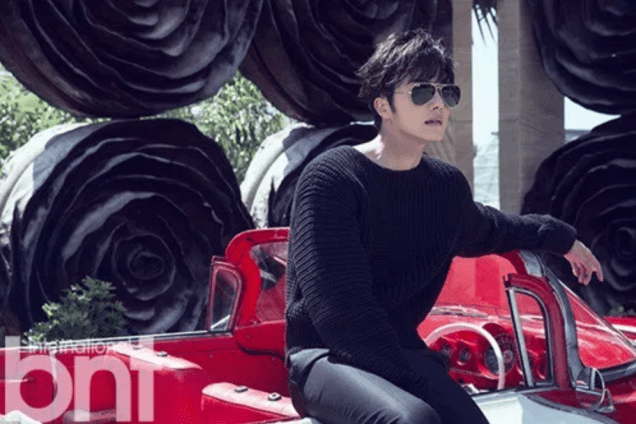 2014 11 Jung Il-woo in Bali Photo Shoot for BNT International. More with Logo 31
