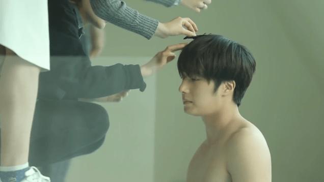2014 12 Jung Il woo Images for his '15 Season Greetings Video. Cr.jungilwoo.com 11