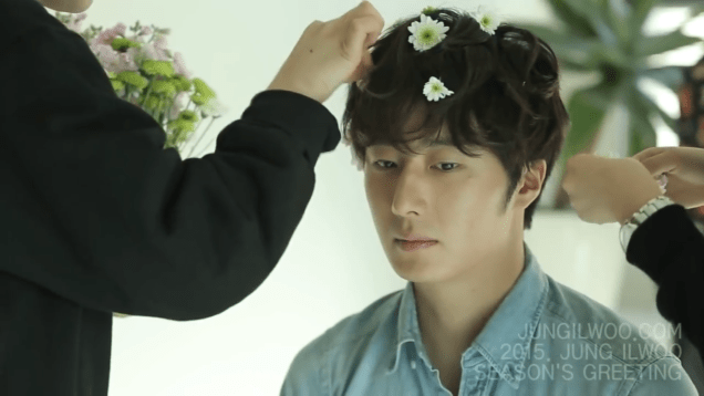 2014 12 Jung Il woo Images for his '15 Season Greetings Video. Cr.jungilwoo.com 24