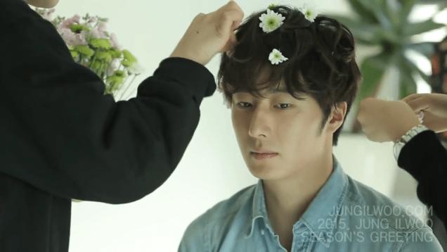 2014 12 Jung Il woo Images for his '15 Season Greetings Video. Cr.jungilwoo.com 24