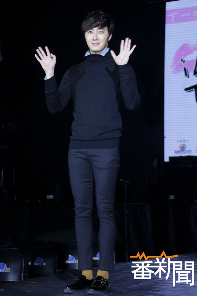 2015 1 10 Jung Il-woo Taiwan Press Conference. 6