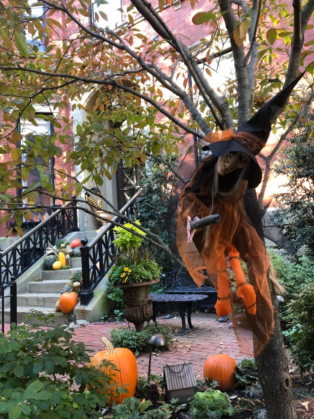 2018 Boston decorated for Halloween. Cr. Fan 1314