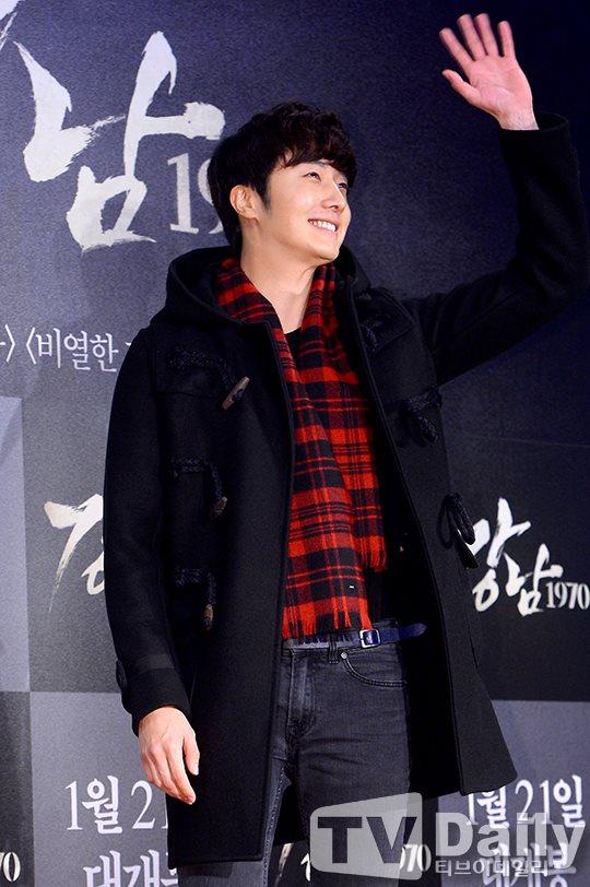 2015 1 20 Jung Il-woo attends VIP Premiere of Gangnam 1970. 8