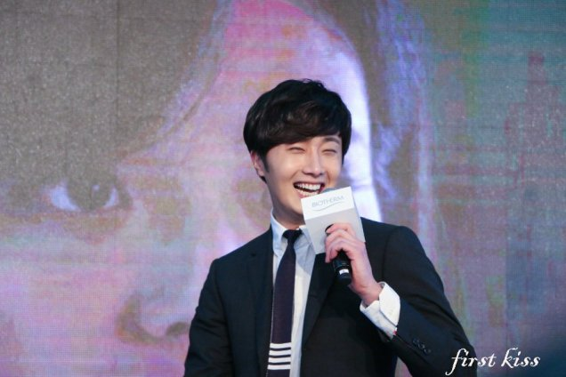2015 3 20 Jung Il-woo at a Biotherm Event in Beijing, China. 12