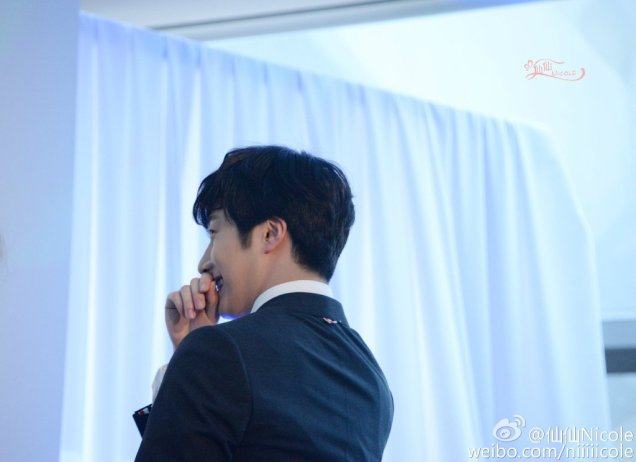 2015 3 20 Jung Il-woo at a Biotherm Event in Beijing, China. 15