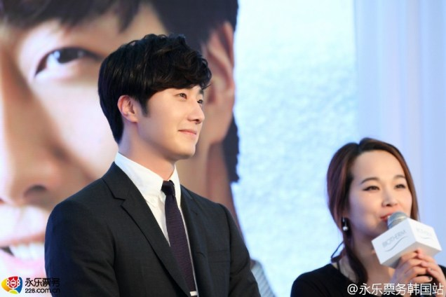 2015 3 20 Jung Il-woo at a Biotherm Event in Beijing, China. 20