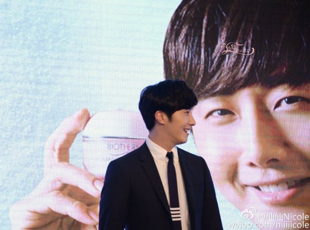 2015 3 20 Jung Il-woo at a Biotherm Event in Beijing, China. 26