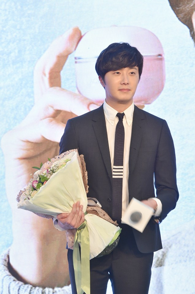 2015 3 20 Jung Il-woo at a Biotherm Event in Beijing, China. 32