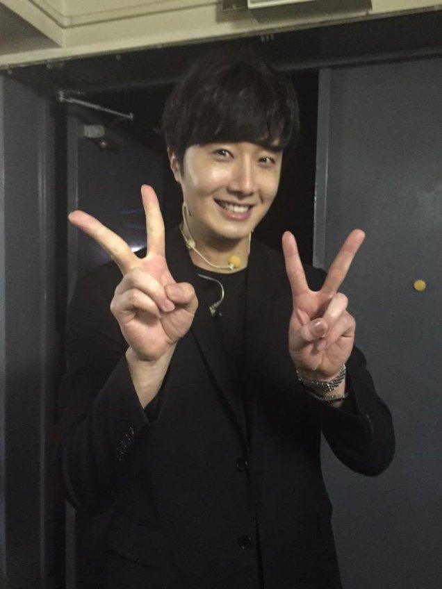 2015 4 25 Jung Il-woo in his Fan Meeting Rainbo-Woo in Tokyo, Japan. 2