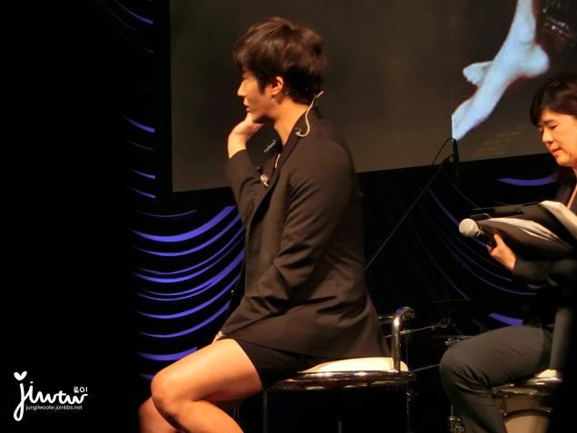 2015 4 25 Jung Il-woo in his Fan Meeting Rainbo-Woo in Tokyo, Japan. 36