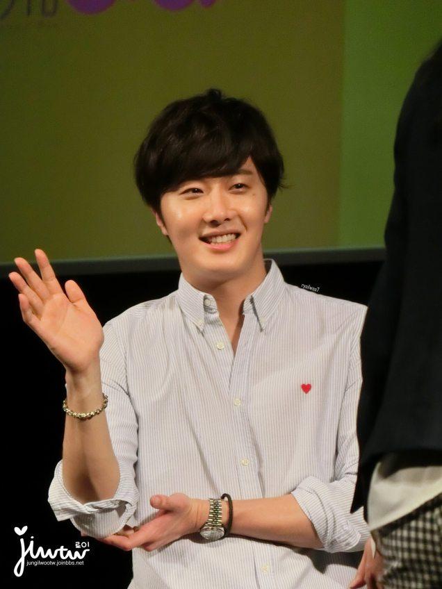 2015 4 25 Jung Il-woo in his Fan Meeting Rainbo-Woo in Tokyo, Japan. Fan Taken. Cr. On them 15