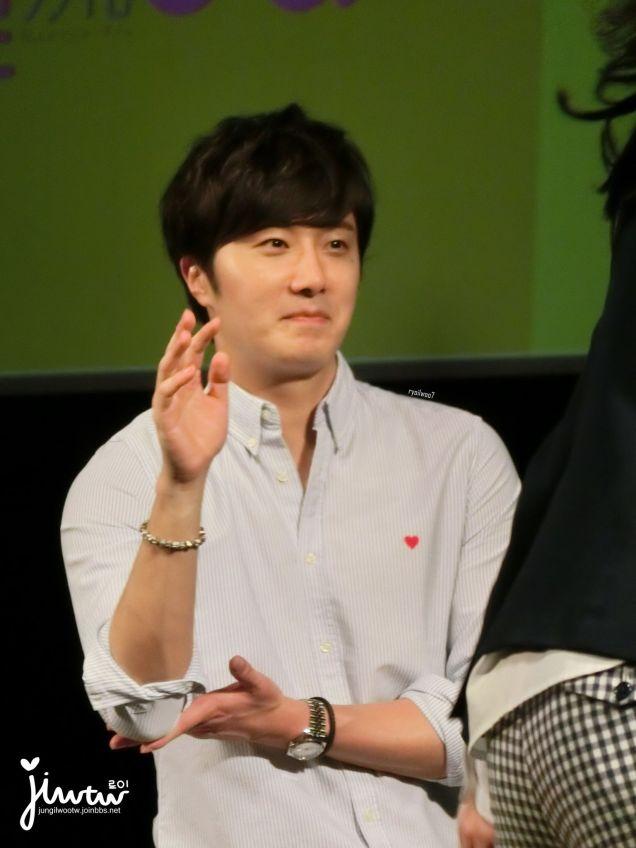 2015 4 25 Jung Il-woo in his Fan Meeting Rainbo-Woo in Tokyo, Japan. Fan Taken. Cr. On them 9