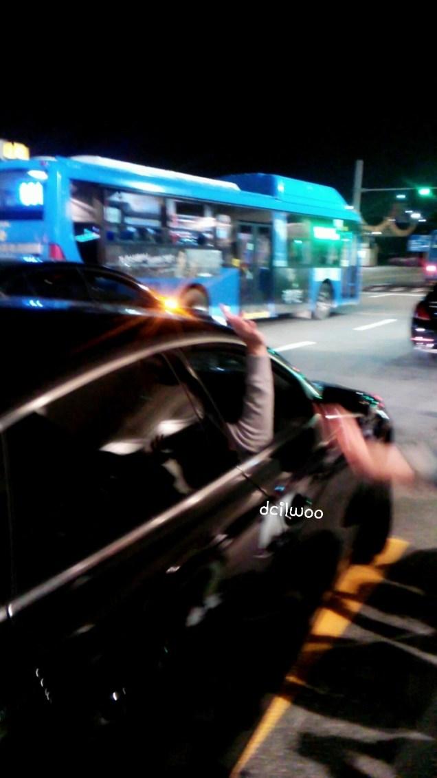 2015 4 25 Jung Il-woo in his Fan Meeting Rainbo-Woo in Tokyo, Japan. Getting back home.2