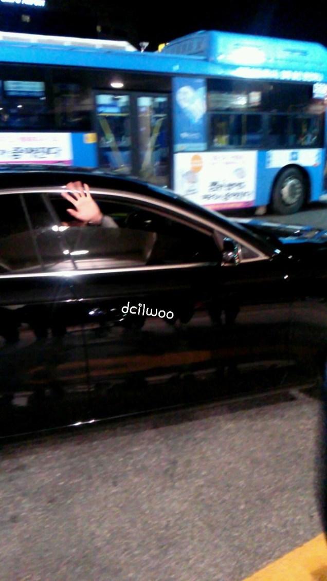 2015 4 25 Jung Il-woo in his Fan Meeting Rainbo-Woo in Tokyo, Japan. Getting back home.4