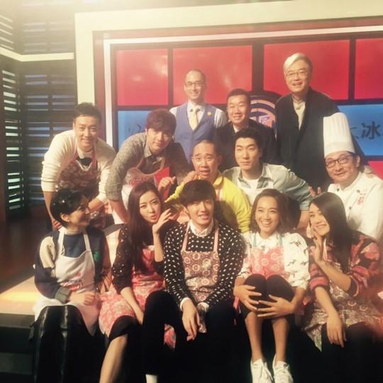 """2015 4 8 Jung Il-woo at China's Jiangsu Satellite TV """"Star Chef"""" 23.jpg"""