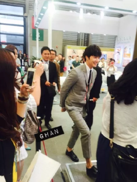 2015 5 19 Jung Il Woo attends the '2015 China Shanghai Cosmetics and Beauty Expo' 80
