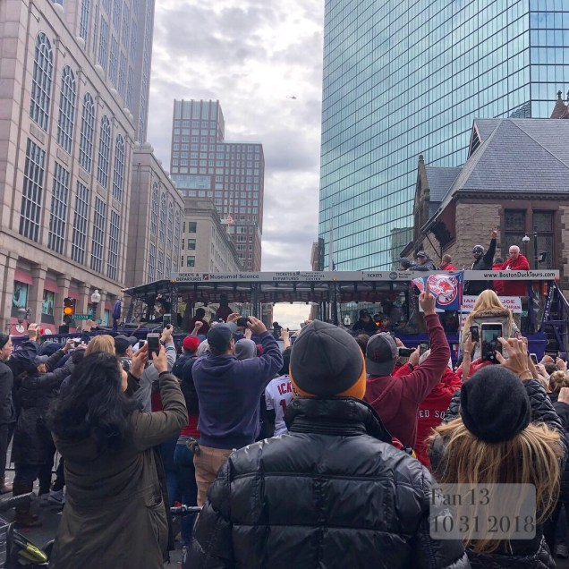 2018 10 31 Boston Red Sox Championship Duck Boat Parade. 4