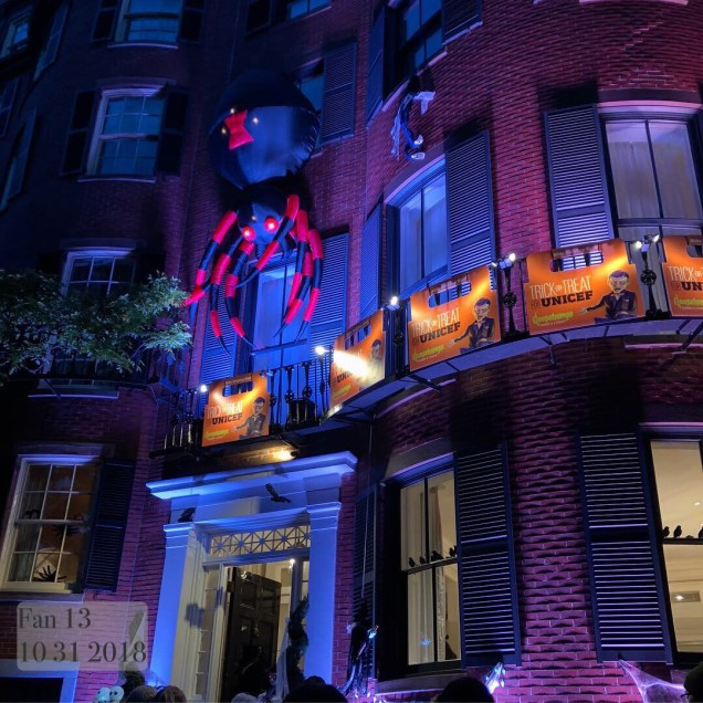 2018 10 31 Halloween at Beacon Hill in Boston, MA. By Fan 13 21