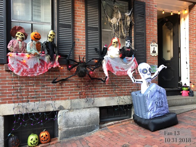 2018 10 31 Halloween at Beacon Hill in Boston, MA. By Fan 13 26