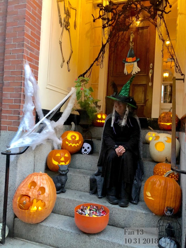 2018 10 31 Halloween at Beacon Hill in Boston, MA. By Fan 13 4