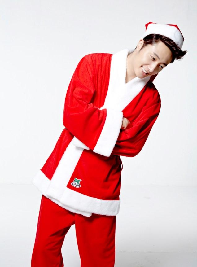 2013 12 Jung Il-woo as Santa 2