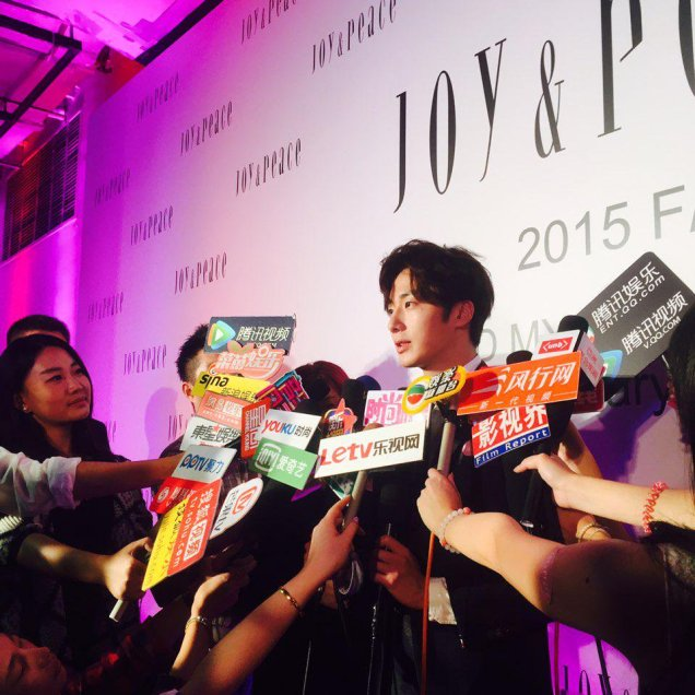2015 09 16 Jung Il-woo attends the 20th Anniversary of Joy and Peace in Shanghai, China. 44