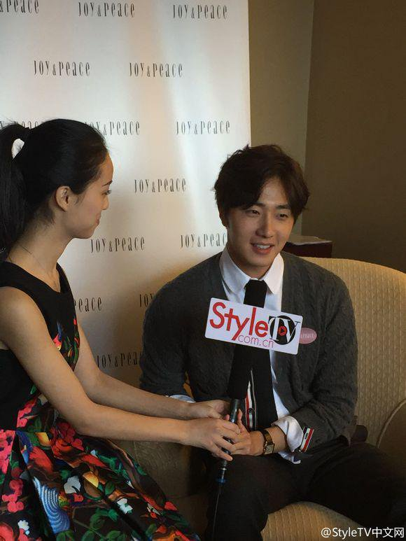 2015 09 16 Jung Il-woo attends the 20th Anniversary of Joy and Peace in Shanghai, China. 56