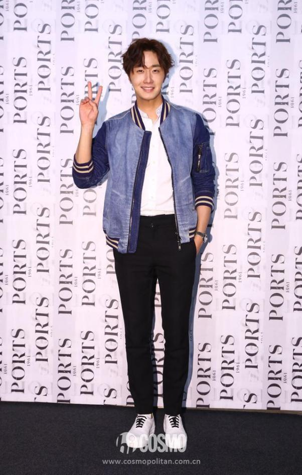 2015 10 13 Jung Il-woo at the Ports 1961 Fashion Show in Shanghai, China.10