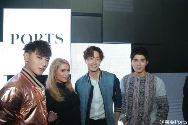 2015 10 13 Jung Il-woo at the Ports 1961 Fashion Show in Shanghai, China.25