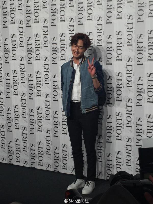 2015 10 13 Jung Il-woo at the Ports 1961 Fashion Show in Shanghai, China.8