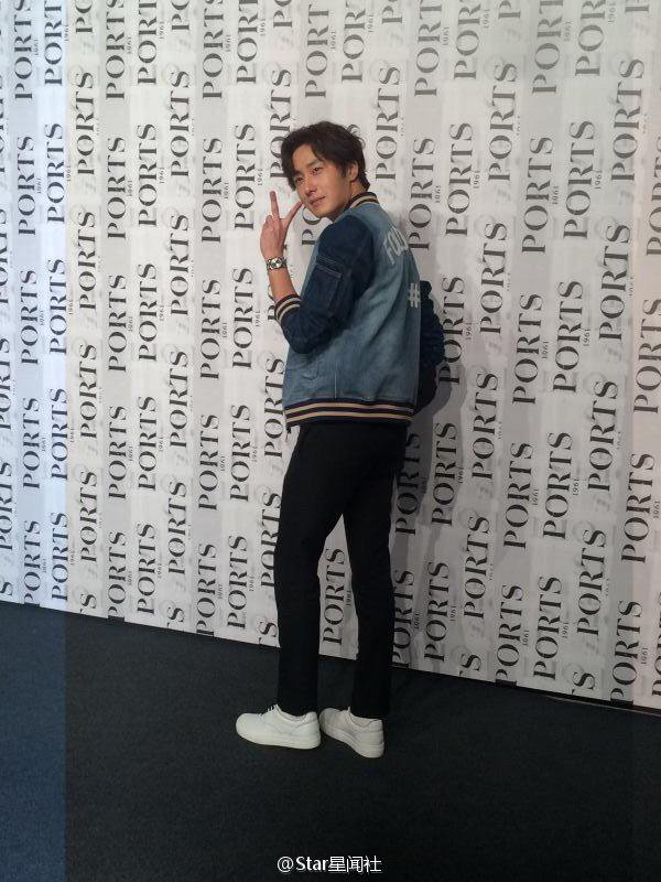 2015 10 13 Jung Il-woo at the Ports 1961 Fashion Show in Shanghai, China.9