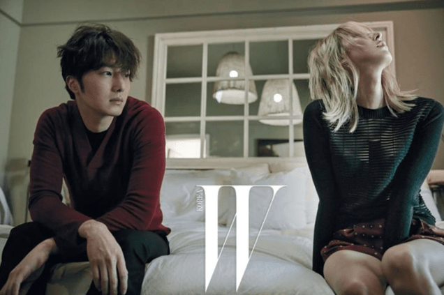2015 11 Jung Il-woo for W Korea Magazine. 3