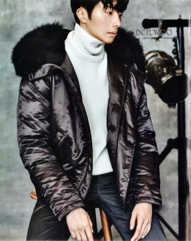 2015 9 Jung Il-woo is a Man in Autumn for Vogue Magazine. 10