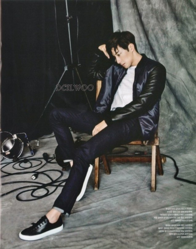 2015 9 Jung Il-woo is a Man in Autumn for Vogue Magazine. 11