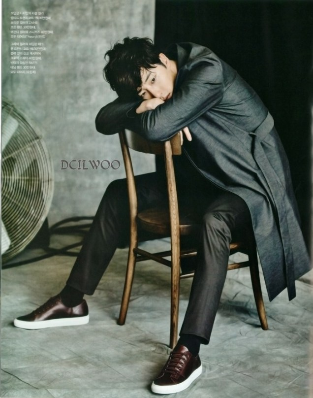 2015 9 Jung Il-woo is a Man in Autumn for Vogue Magazine. 12