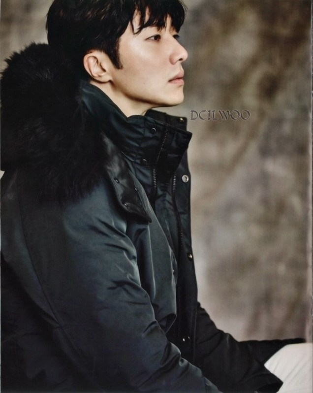 2015 9 Jung Il-woo is a Man in Autumn for Vogue Magazine. 14