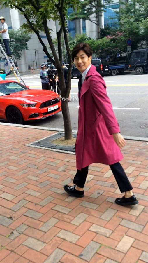 2015 Jung Il-woo in High End Crush BTS Cr. SOHU TV10