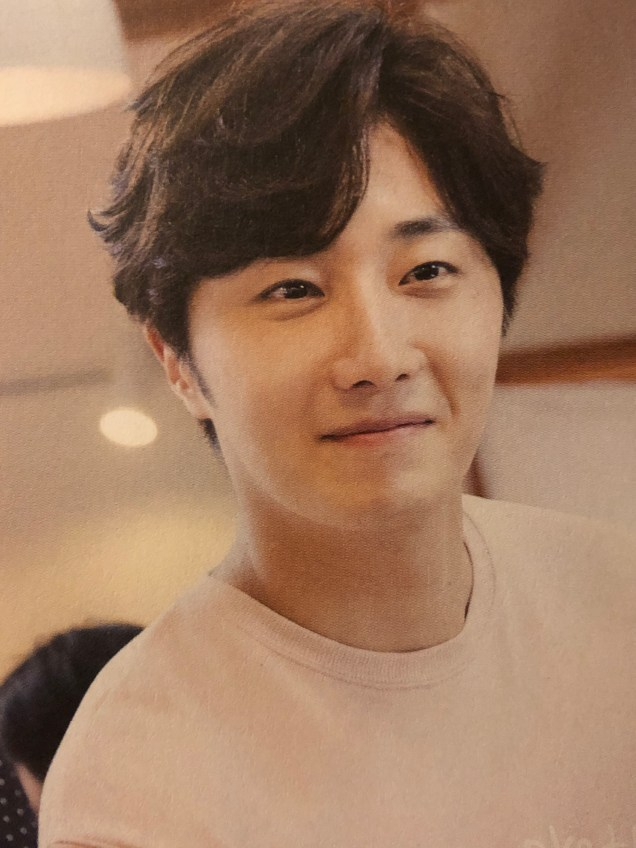 2015 09 13 Jung Il-woo in barbecue birthday celebration in Japan. Cr. 10th Anniversary Book6