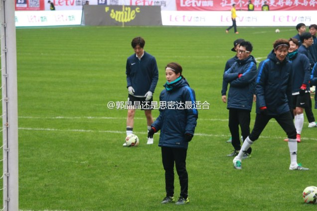 2016 1 10 jung il-woo playing soccer in the 2016 asian smile cup. 10