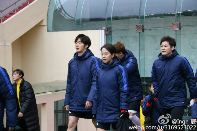 2016 1 10 jung il-woo playing soccer in the 2016 asian smile cup. 22