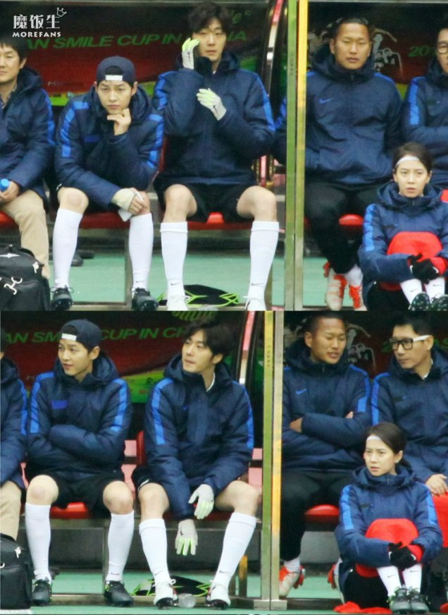 2016 1 10 jung il-woo playing soccer in the 2016 asian smile cup. 51